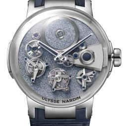 Ulysse Nardin Executive Tourbillon Free Wheel Osmium
