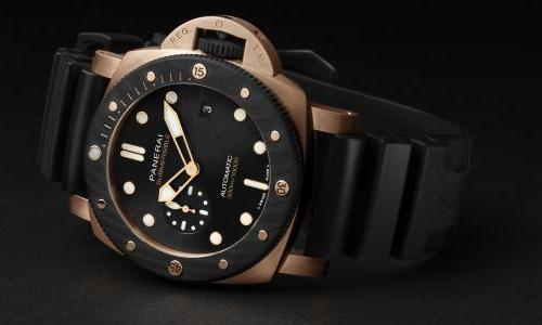 Panerai launches the Submersible Goldtech™ OroCarbo 44mm