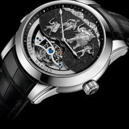 'HANNIBAL' MINUTE REPEATER WESTMINSTER CARILLON TOURBILLON JAQUEMARTS by Ulysse Nardin