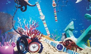 Swatch takes a dive for Summer 2018