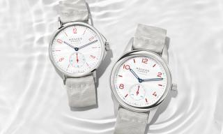 "Introducing two new Nomos ""white siren"" neomatiks"