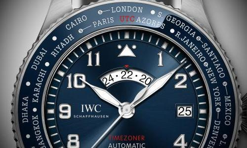 "IWC presents new Pilot's Watch Timezoner Edition ""Le Petit Prince"""