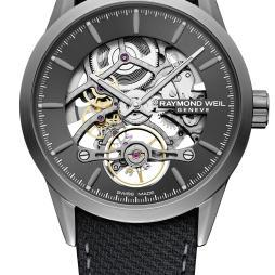 Raymond Weil Ernest Jones Exclusive RW1212 Skeleton Freelancer