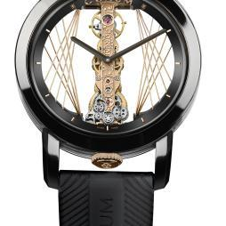 Corum Golden Bridge Round 43 Art Deco
