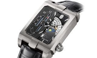 Harry Winston's add gravitas with the Avenue Dual Time Automatic