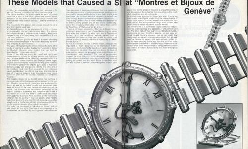 1984: When Gerald Genta challenged the watchmaking establishment