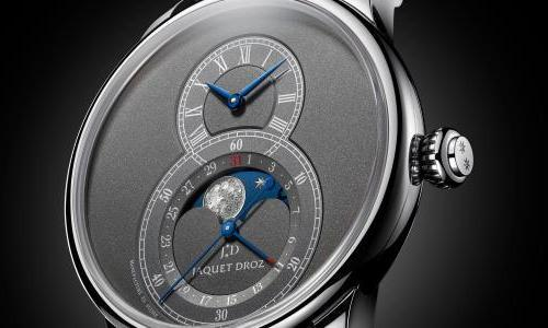 The Jaquet Droz Grande Seconde Moon gets a new Anthracite Edition