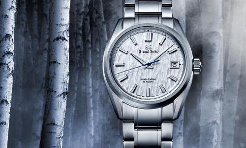 "A special Grand Seiko to ""bind time, beauty and nature together"""