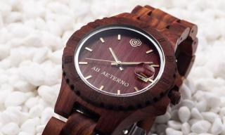 Ab Aeterno, a wooden watch for eternity?