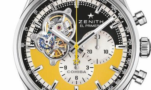 Zenith celebrates Cohiba cigars with a special Chronomaster Open
