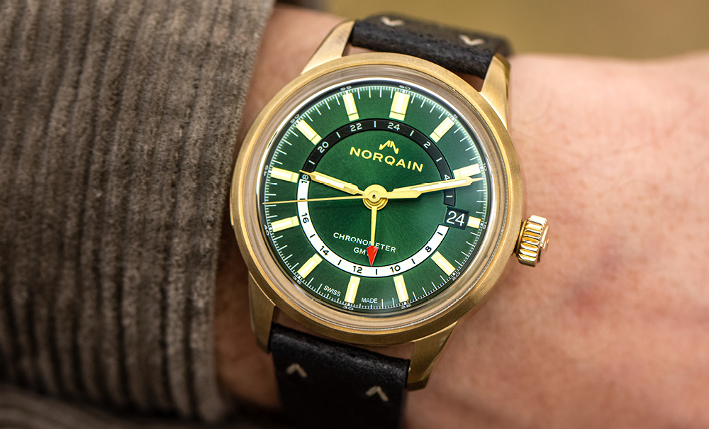 Norqain: two new Freedom 60 GMT models