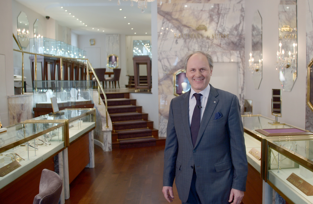 Charles Kaufmann, owner of Kaufmann de Suisse in Montreal, is Patek Philippe's sole authorised retailer in the province of Quebec.