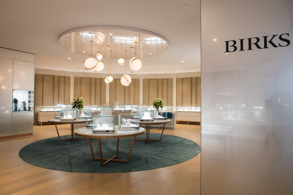 Maison Birks is the leading Canadian player in the sale of watches and jewellery.
