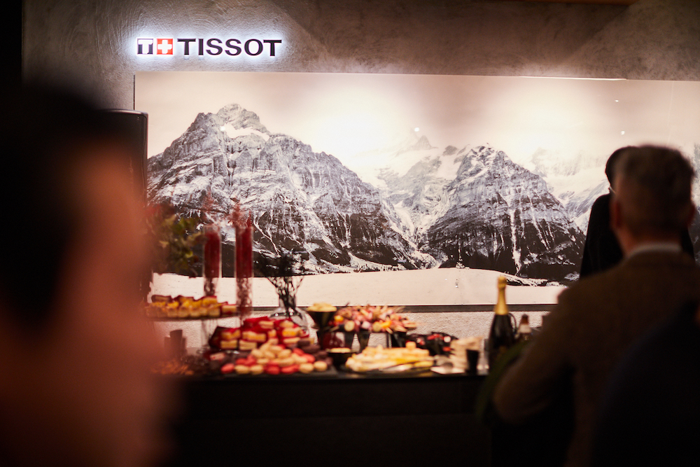 Visiting Tissot's new boutique in Tokyo
