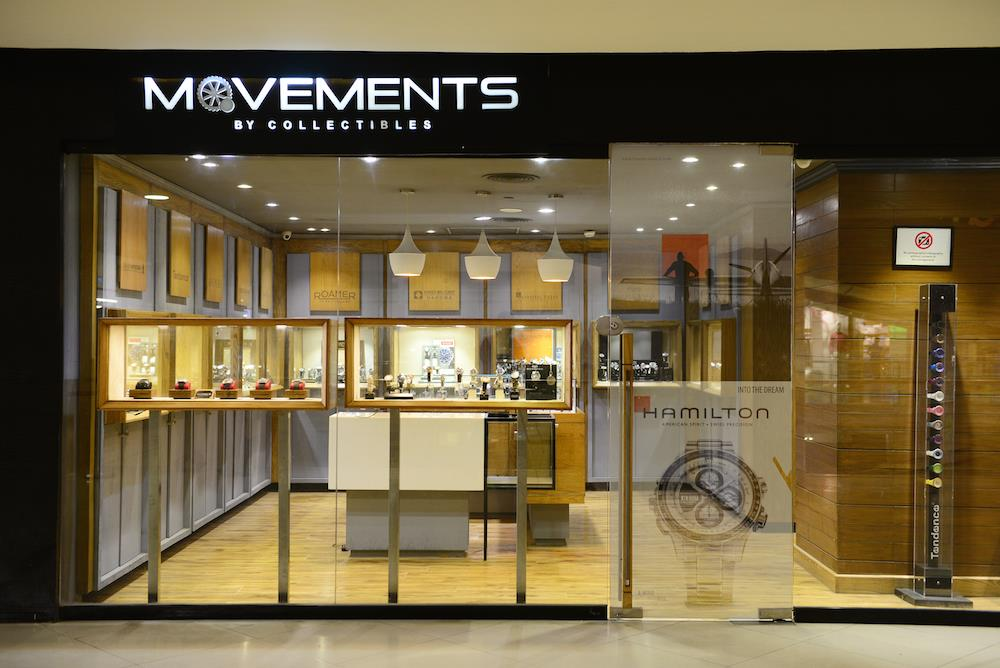Movements boutiques offer more affordable brands such as Hamilton, Alpina or Certina