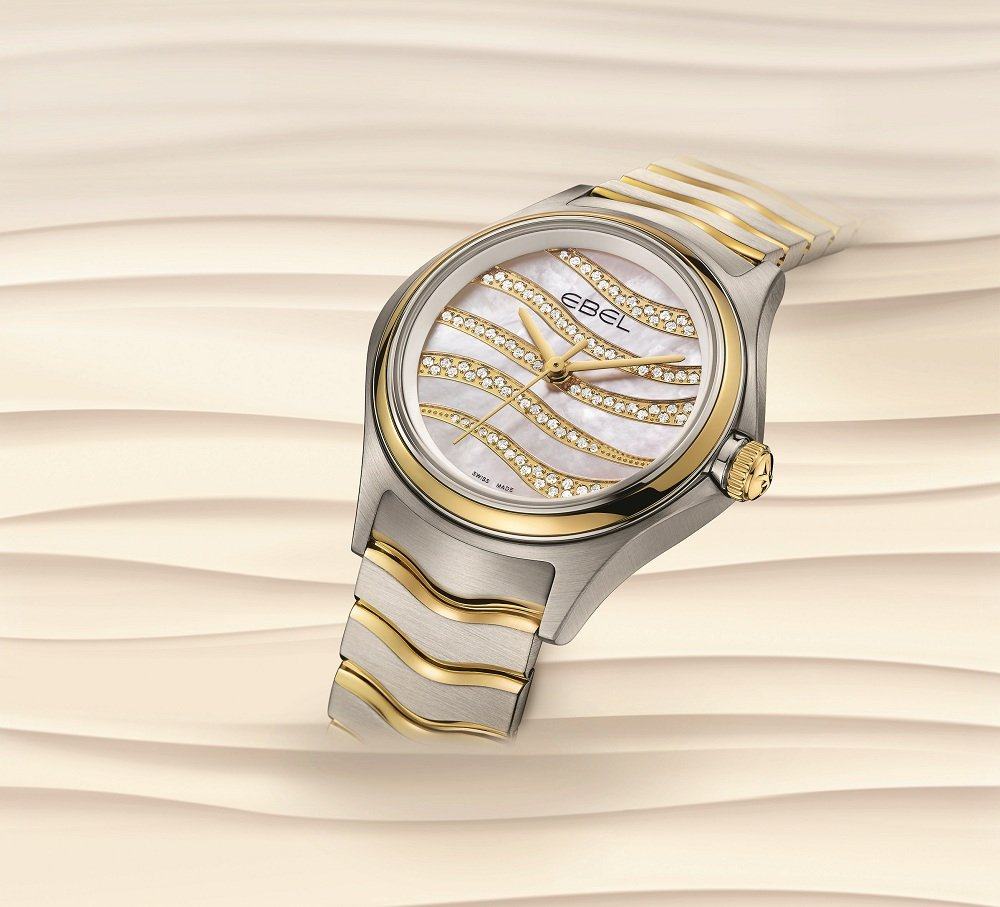 Ladies' watch of the day: Ebel Wave Diamond