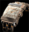 Gevril Mens 1200 Times Square New Limited Edition Avant-Garde Luxury Watch