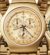 Golden chronographs from Swatch
