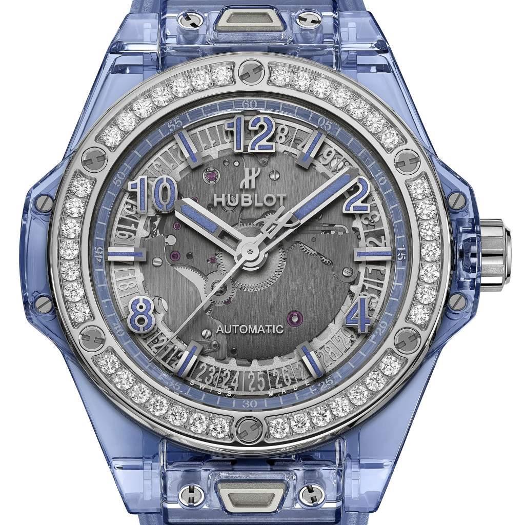 Replica Hublot Big Bang One Click Sapphire Diamonds Luxus