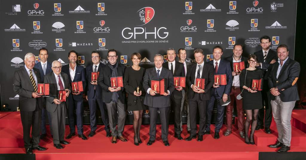Discover the big winners from the Grand Prix d'Horlogerie de Genève