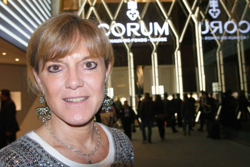 Elsa Berry, director of Vendôme Global Partners, at BaselWorld