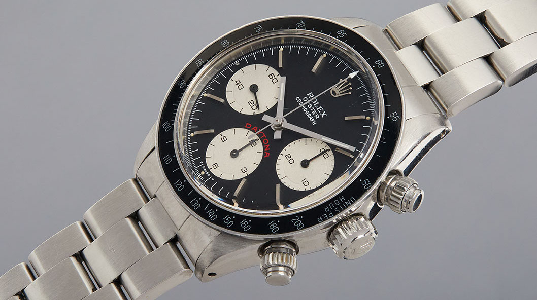 """Heuer, Rolex, Panerai: all results of Phillips' """"Racing Pulse"""" auction"""