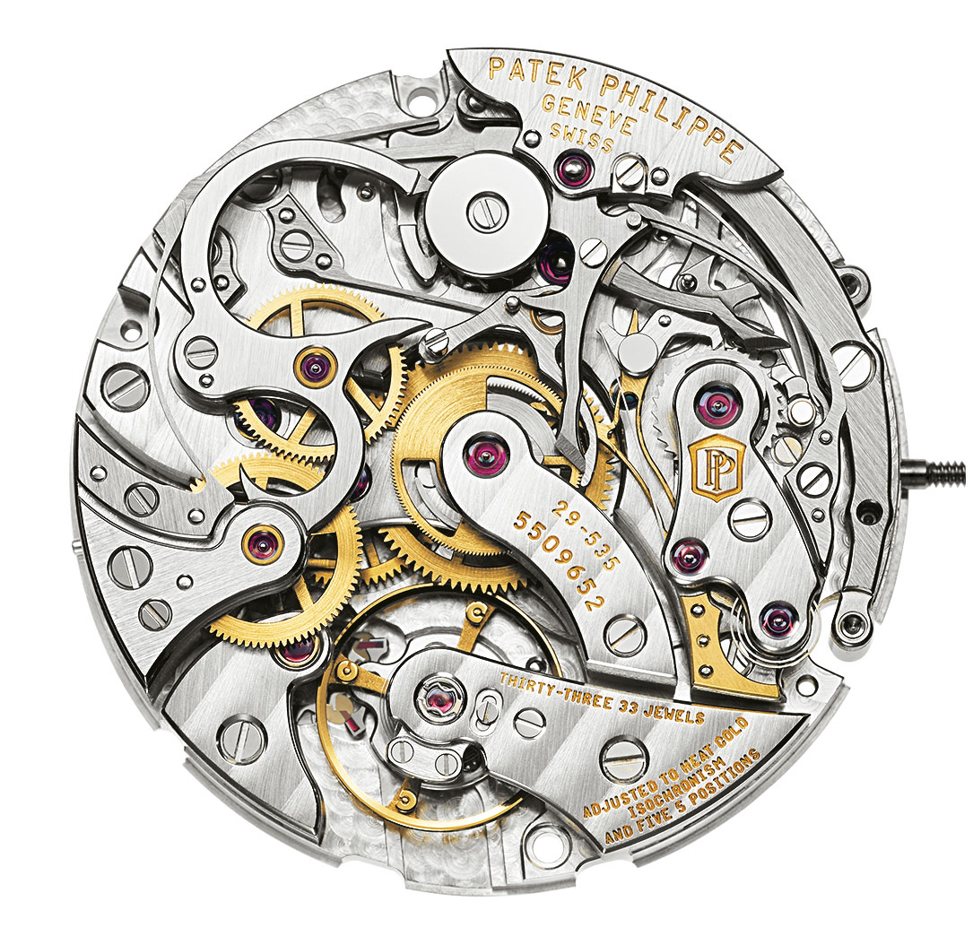 Patek Philippe Manual Chronograph Calibres Clock Possible 5 Smallest Analog Schematic Diamonds Ch 29 535 Ps 224 Calibre