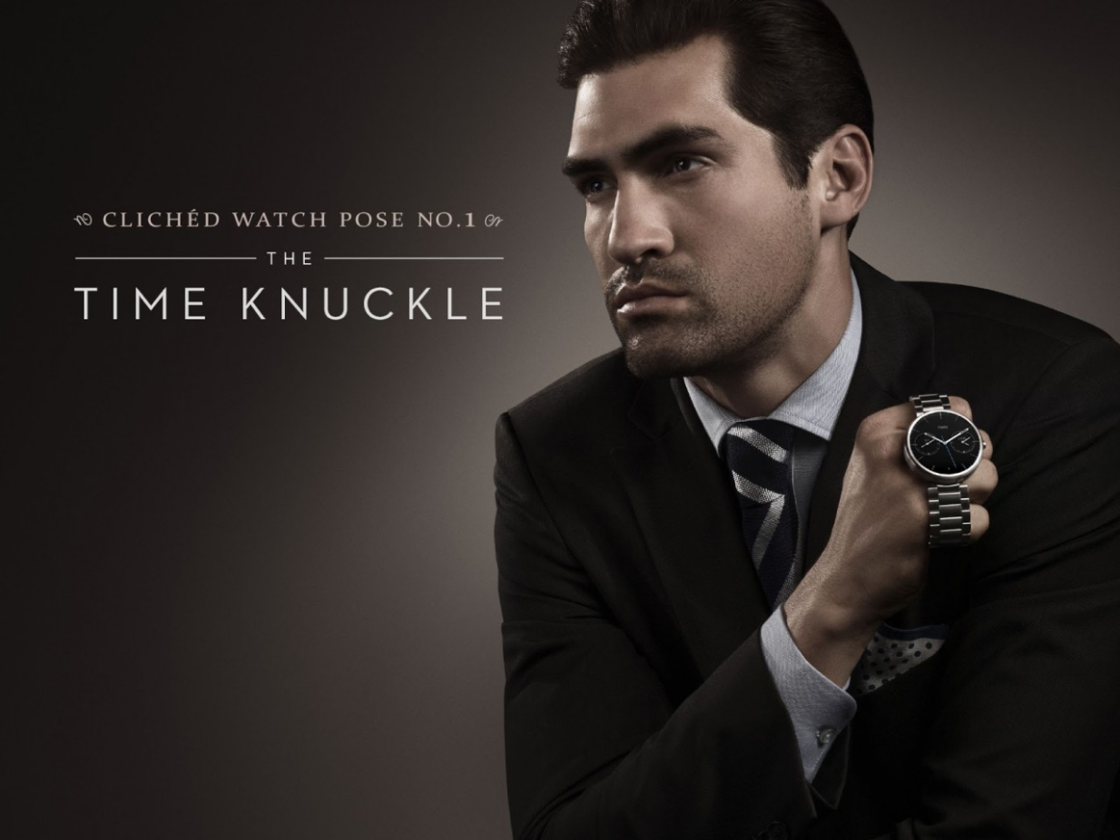 clever Motorola ad campaign pokes fun at modern watch advertising