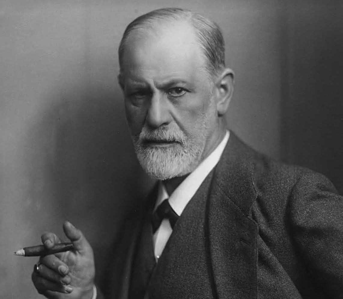 ...as was Sigmund Freud