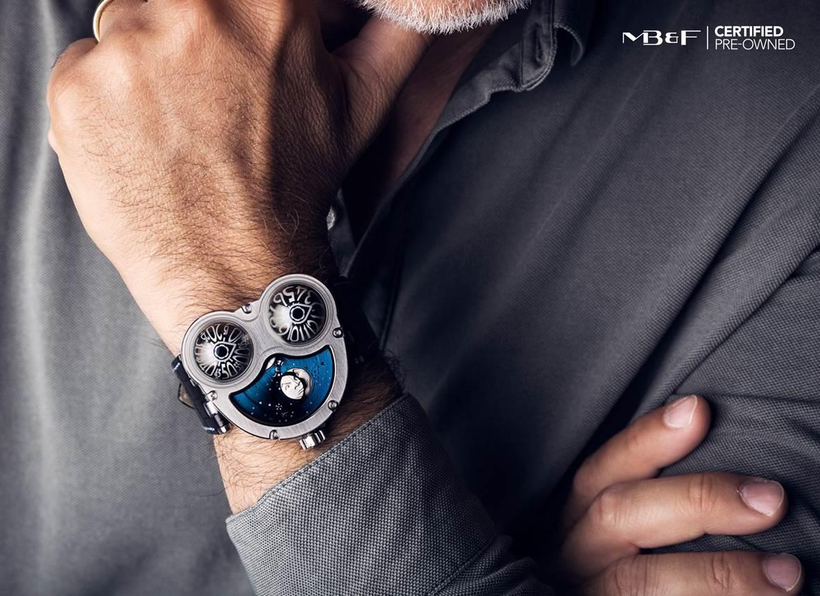 MB&F: avant-garde vintage