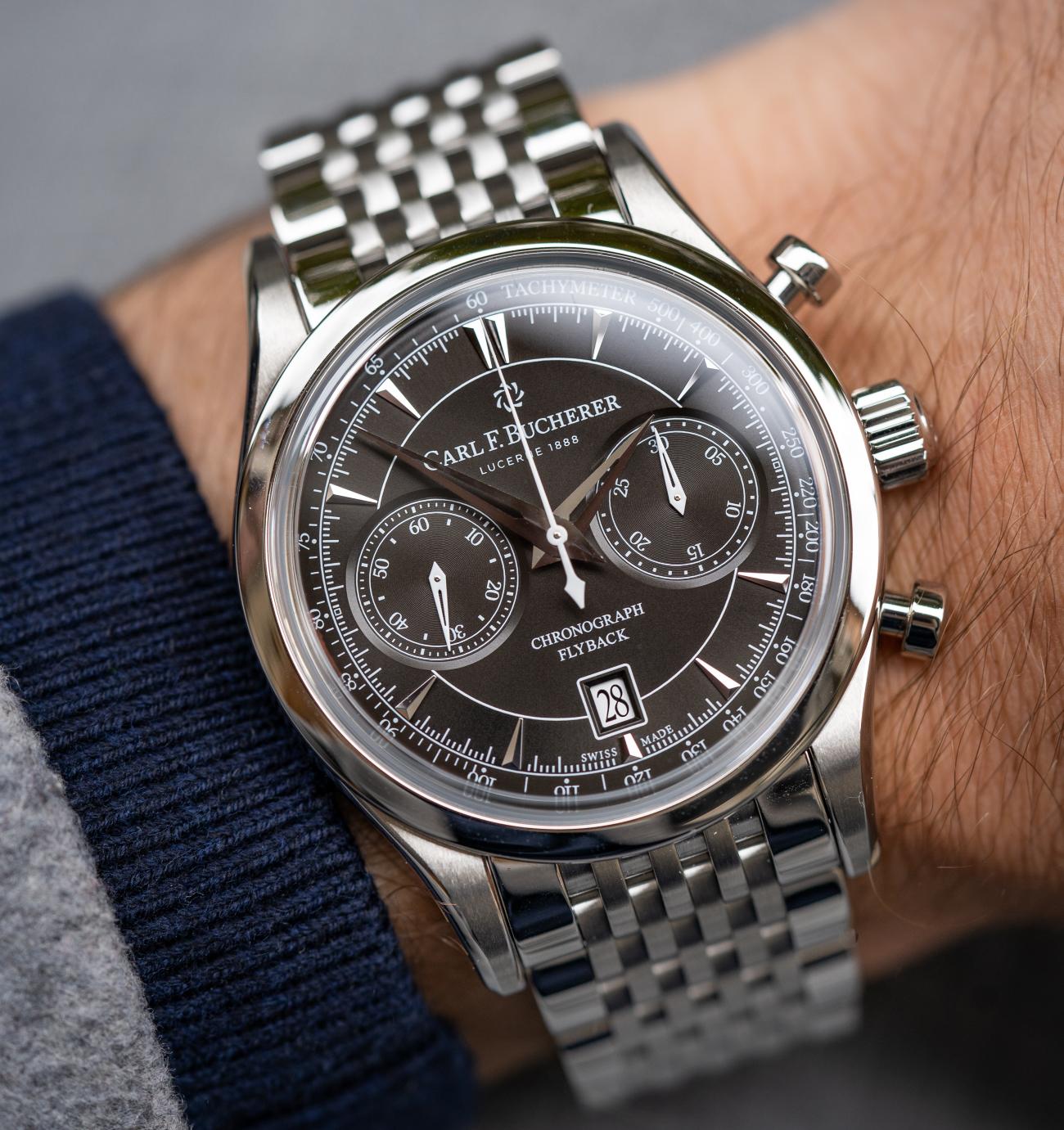 Carl_f_Bucherer_maneroflyback_with_metal_bracelet_and_brilliant_black_dial_-Europa_Star_watch_magazine_2020