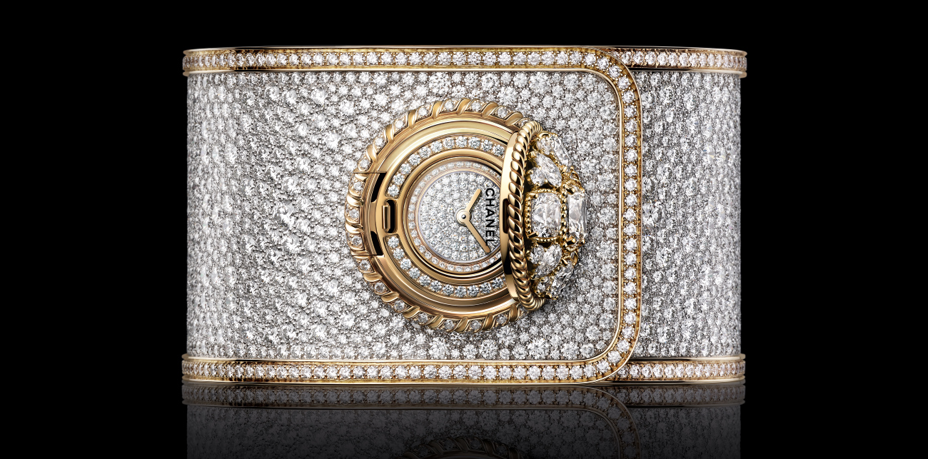 Chanel Mademoiselle Privé Bouton