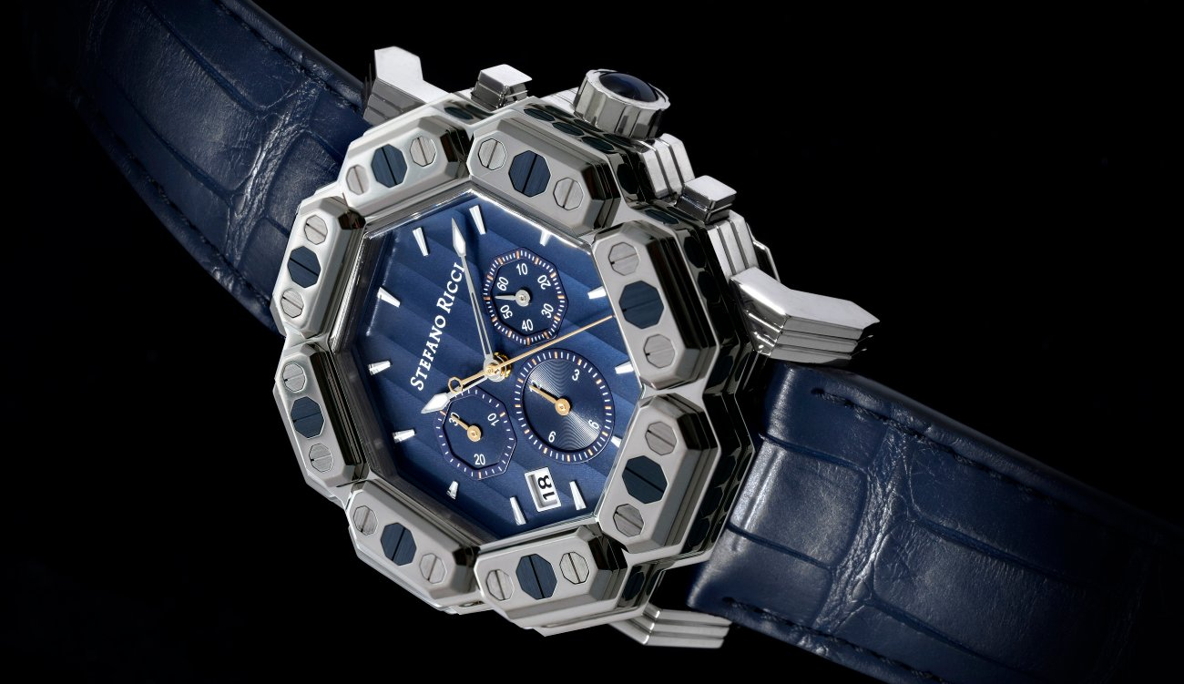 Stefano Ricci presents its first range of watches