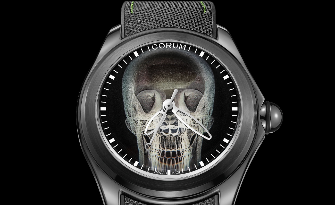 Corum launches an X Ray version of its Bubble watch