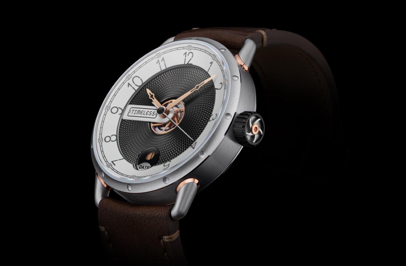 Timeless: the new brand with a retro-futurist design