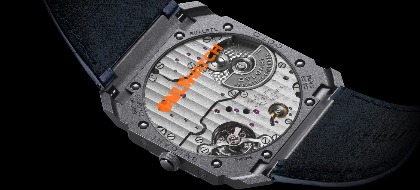 Bulgari: a unique Octo Finissimo in tantalum for Only Watch