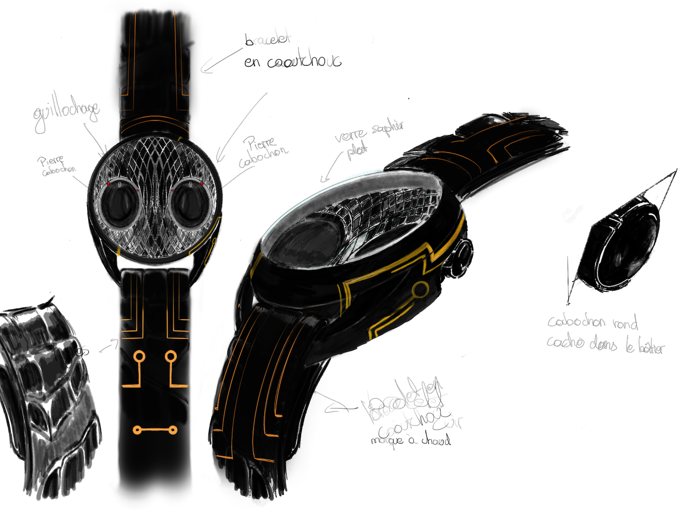 The watch inspired by ants