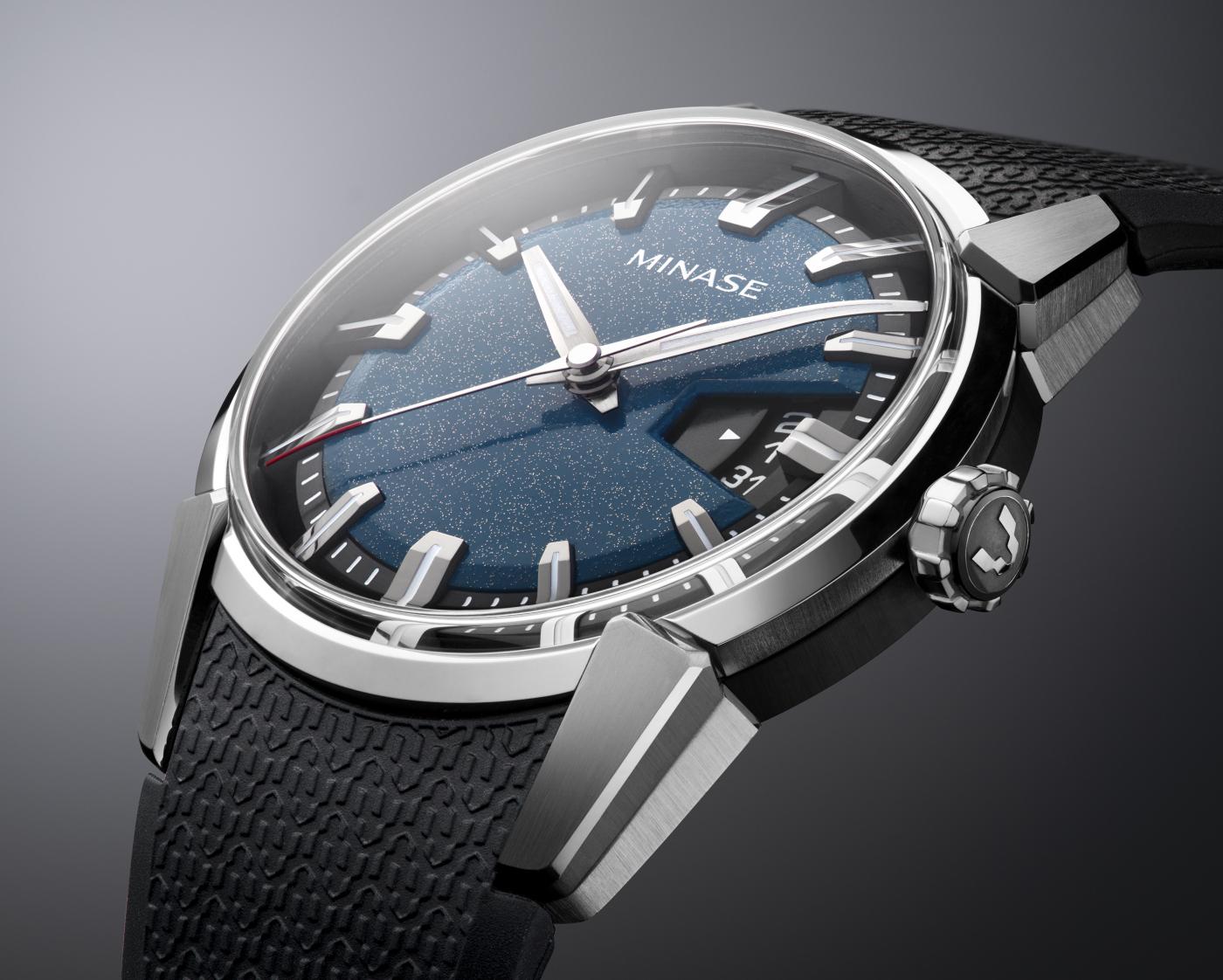 A new deep blue Urushi dial for Minase's Divido