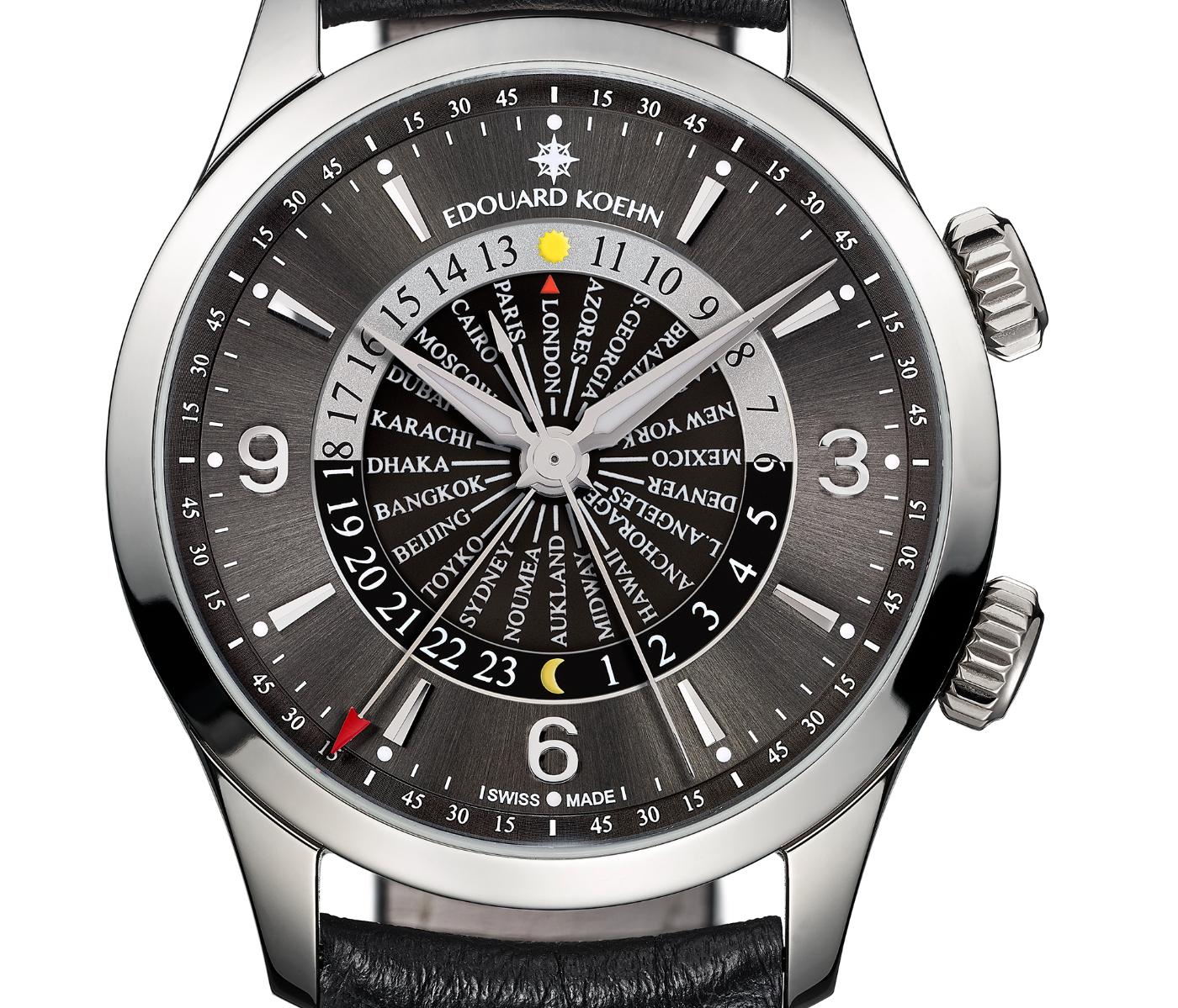"Introducing Edouard Koehn's ""World Heritage"" timepiece"