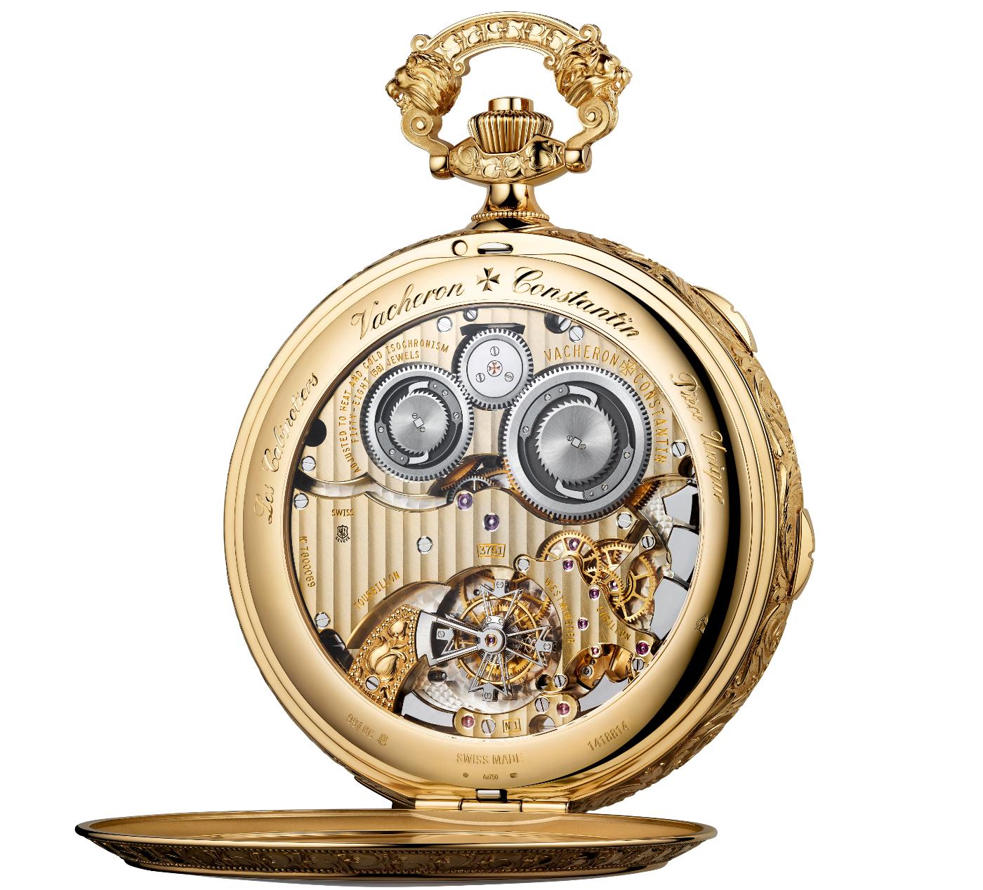 Vacheron Constantin unveils an exceptional bespoke pocket watch
