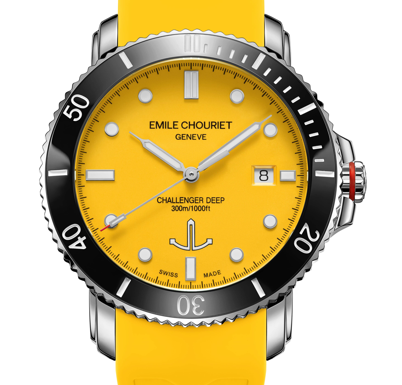 Emile Chouriet: new colours for the Challenger Deep