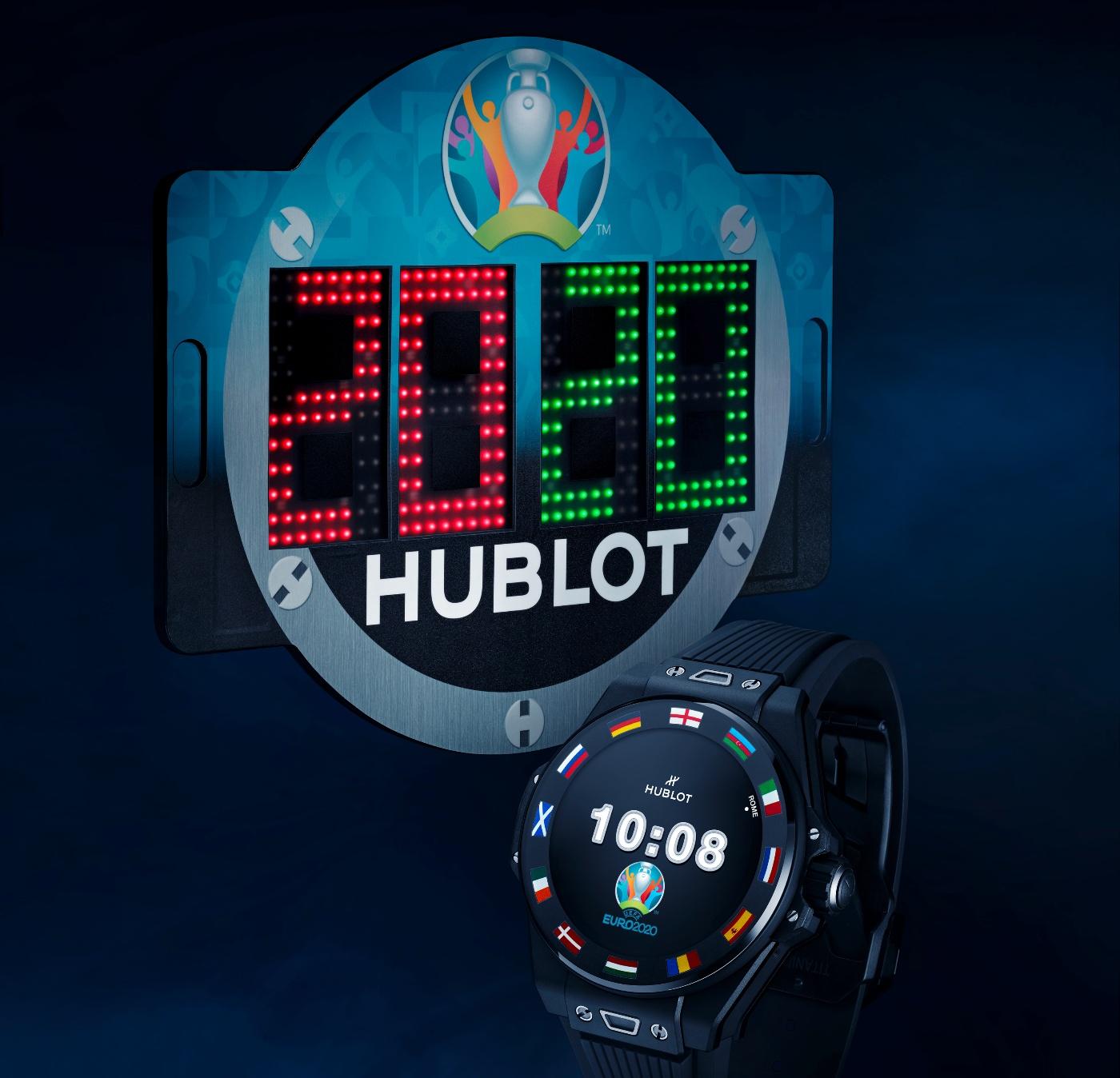 Hublot unveils the Big Bang e UEFA EURO 2020™