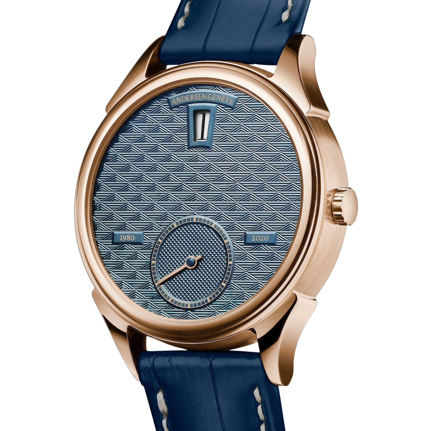 Andersen Genève: a model with jumping hours to celebrate the 40th anniversary of the independent brand