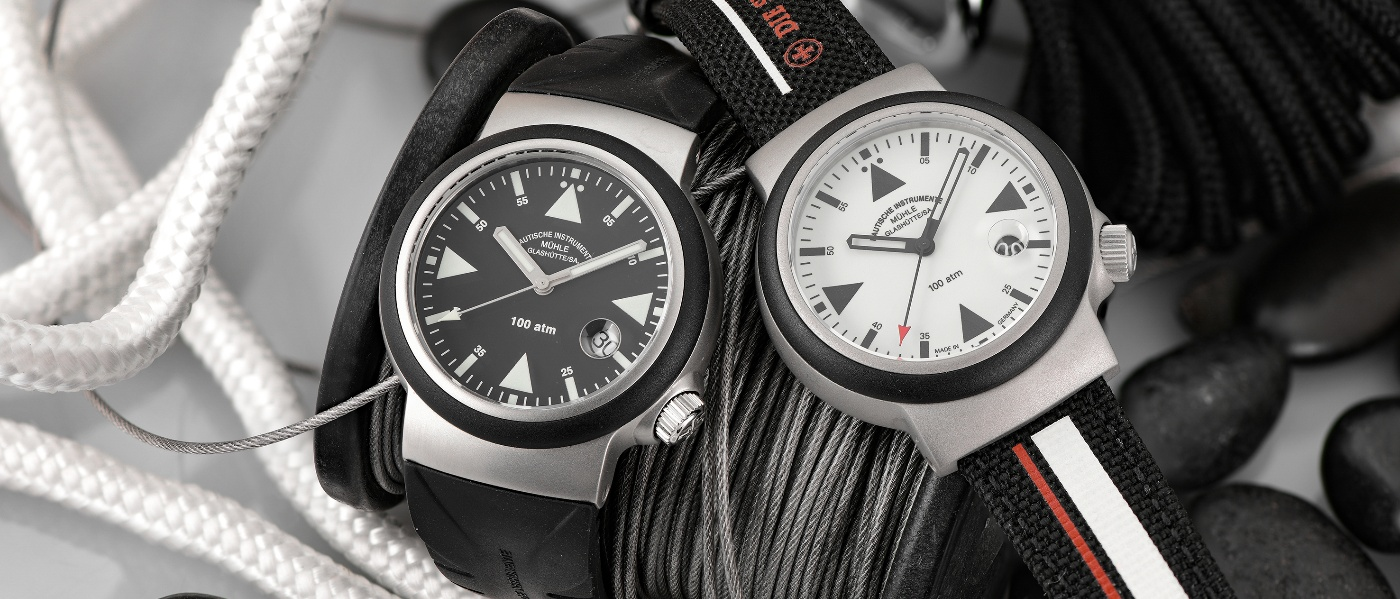 Mühle-Glashütte presents the S.A.R. Rescue-Timer LUMEN