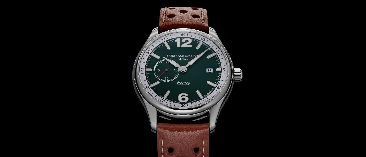 Introducing Frederique Constant's new Vintage Rally watches