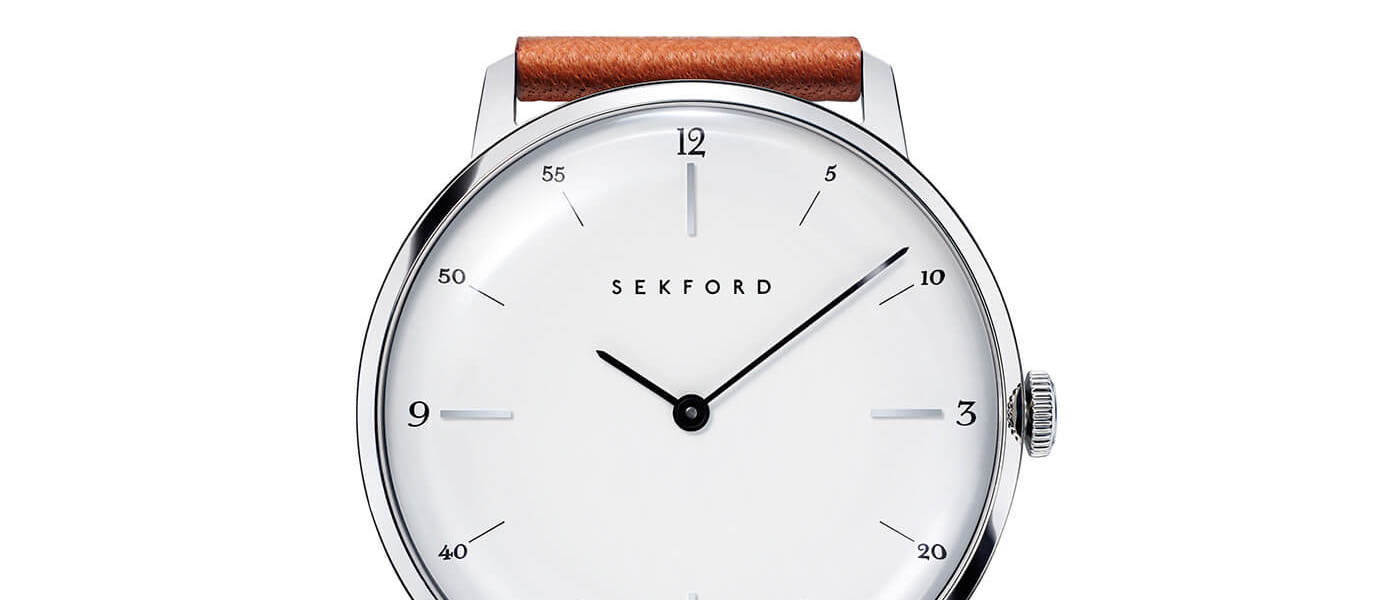A closer look at Sekford watches
