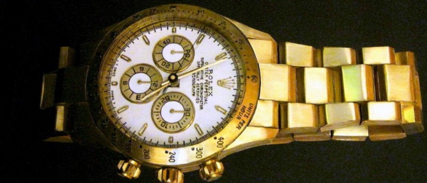 The real deal? Check out this amazing Rolex made of paper
