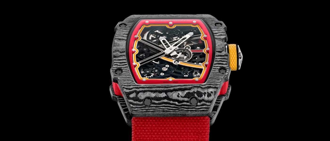 Introducing the lightest automatic watch by Richard Mille