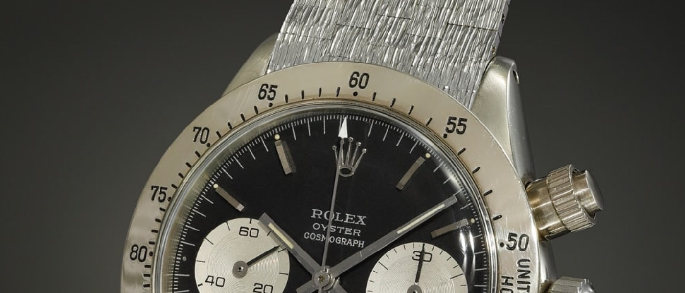 Rolex and Omega break records at Phillips auction