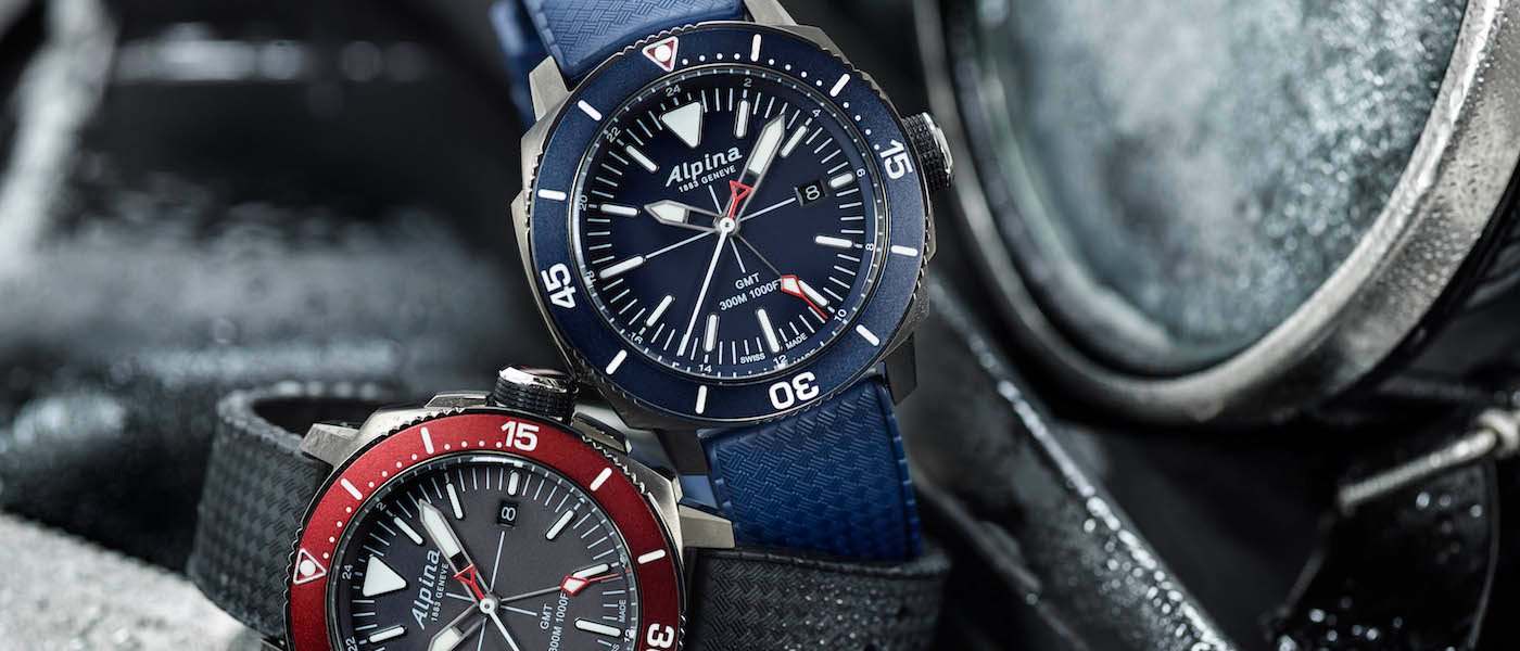 A Closer Look At The Alpina Seastrong Diver GMT - Alpina gmt